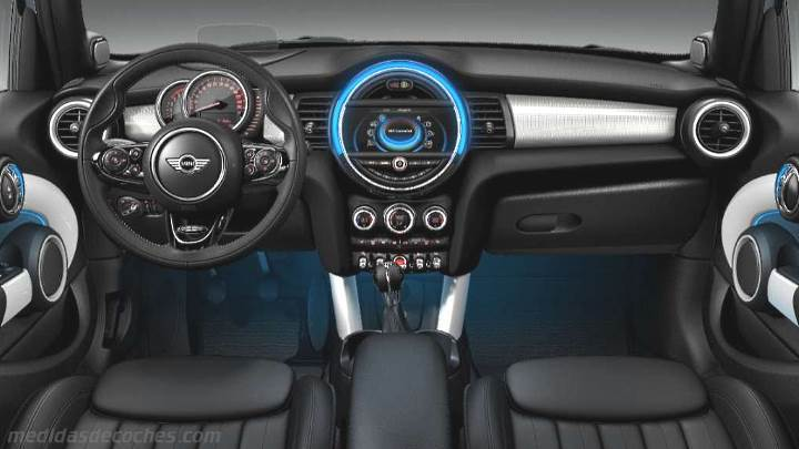 Medidas mini 3 puertas 2014 maletero e interior - Medidas puertas interior ...