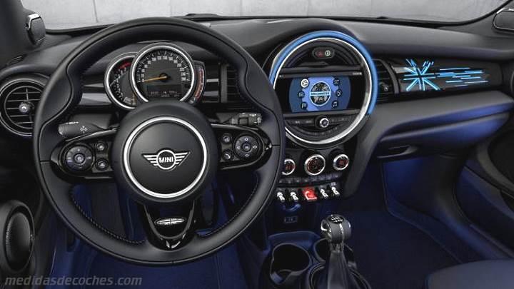 Mini Cooper Interior >> Medidas MINI 3 puertas 2018, maletero e interior