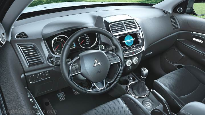 Medidas Mitsubishi ASX 2017, maletero e interior