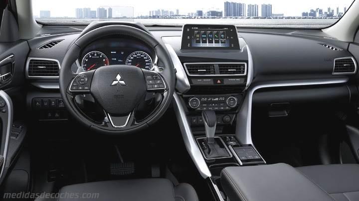 Medidas Mitsubishi Eclipse Cross 2018 Maletero E Interior
