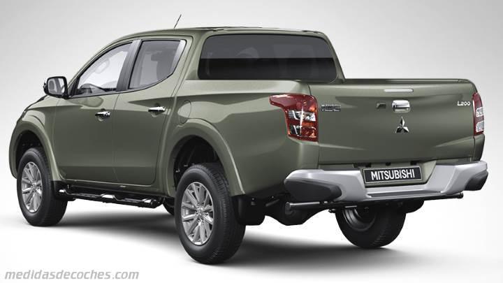 Medidas Mitsubishi L200 2015 Maletero E Interior