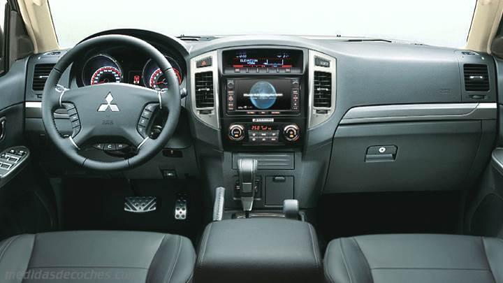 Mitsubishi Montero 2015 >> Medidas Mitsubishi Montero 3p 2015, maletero e interior