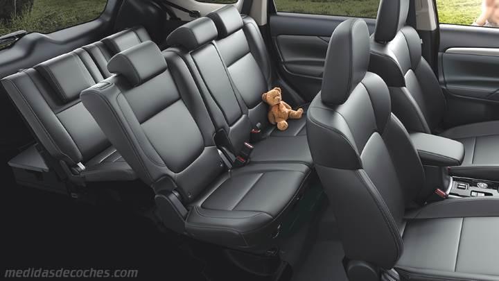 Medidas Mitsubishi Outlander 2019 Maletero E Interior