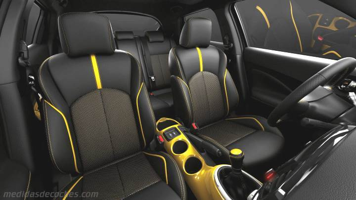 Medidas Nissan Juke 2014, maletero e interior