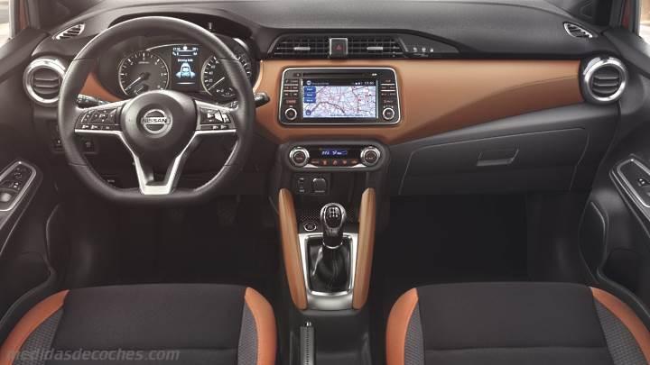 Medidas Nissan Micra 2017 Maletero E Interior