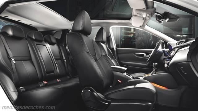 Medidas Nissan Qashqai 2014, maletero e interior