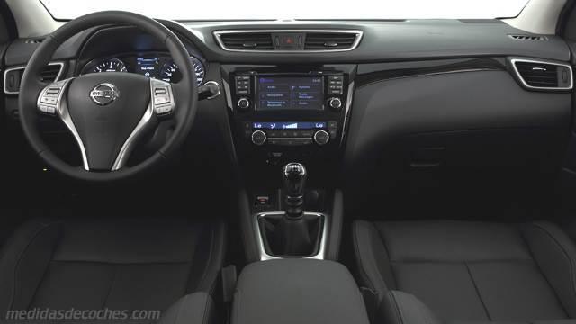 Medidas Nissan Qashqai 2014 Maletero E Interior