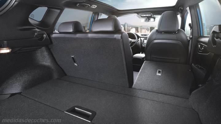 Medidas Nissan Qashqai 2017 Maletero E Interior