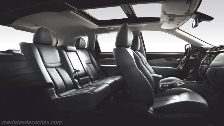 Infiniti Suv 2017 >> Medidas Nissan X-Trail 2017, maletero e interior