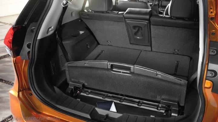Medidas nissan x trail 2017 maletero e interior for Nissan x trail interior