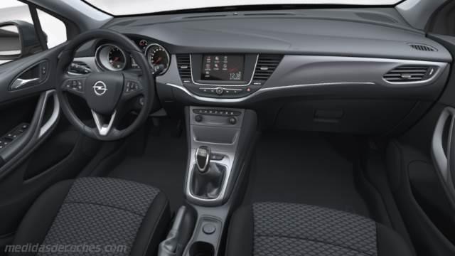 Medidas Opel Astra Sports Tourer 2016 Maletero E Interior