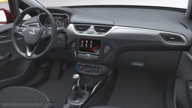 Medidas Opel Corsa 3p 2015 Maletero E Interior