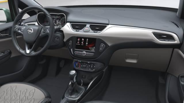 Medidas opel corsa 5p 2015 maletero e interior for Interior opel corsa 2017