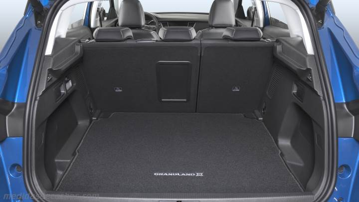 medidas opel grandland x 2018 maletero e interior. Black Bedroom Furniture Sets. Home Design Ideas