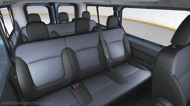Medidas Opel Vivaro Combi Larga 2015 Maletero E Interior