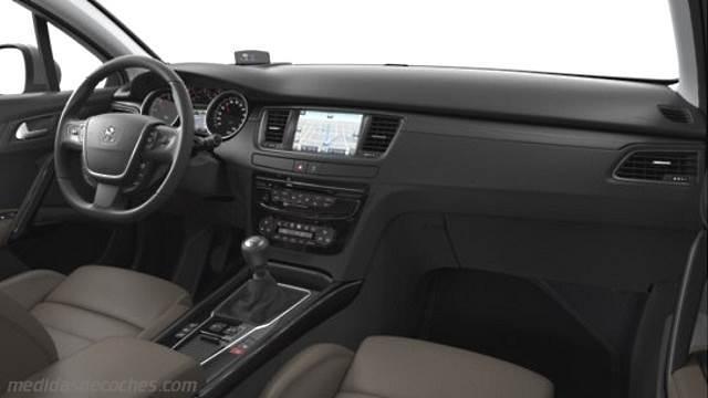 Medidas peugeot 508 2015 maletero e interior - Interior peugeot 508 ...
