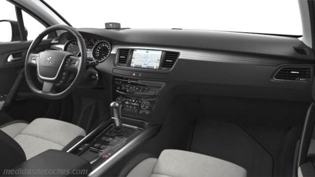 Medidas peugeot 508 rxh 2015 maletero e interior for Interior peugeot 508