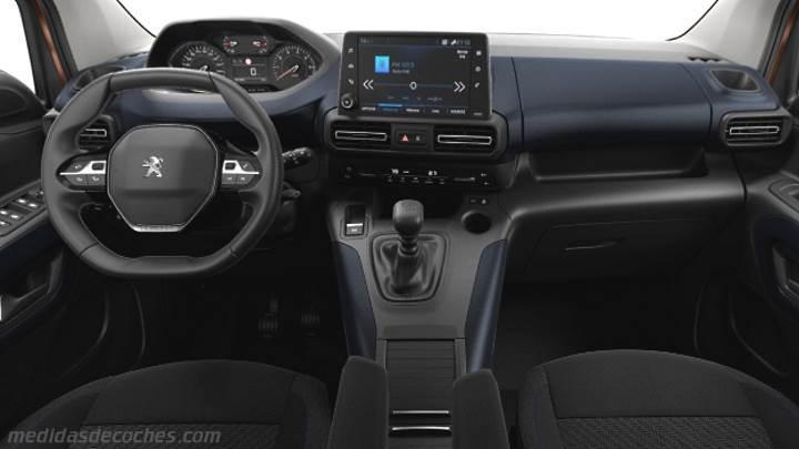 Medidas Peugeot Rifter 2019 Maletero E Interior