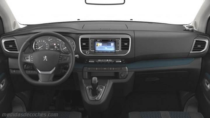 Medidas Peugeot Traveller Compact 2016, maletero e interior