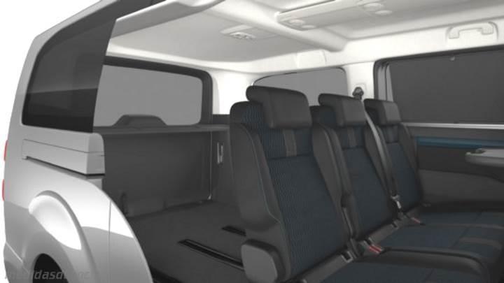 Medidas Peugeot Traveller Larga 2016 Maletero E Interior