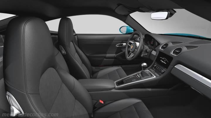 Medidas Porsche 718 Cayman 2016 Maletero E Interior