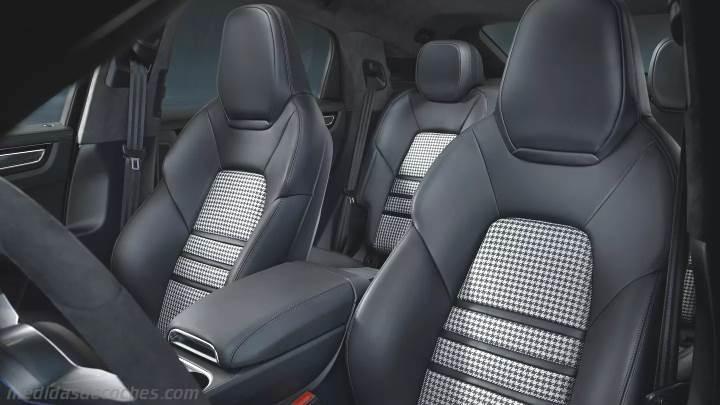 Medidas Porsche Cayenne Coupé 2019, maletero e interior