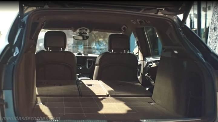Medidas Porsche Macan 2014, maletero e interior