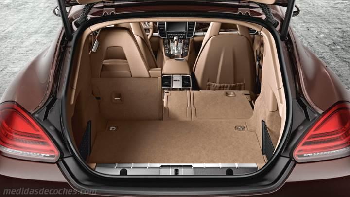 Medidas Porsche Panamera 2013 Maletero E Interior