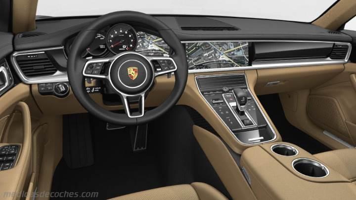 Medidas Porsche Panamera Executive 2017, maletero e interior