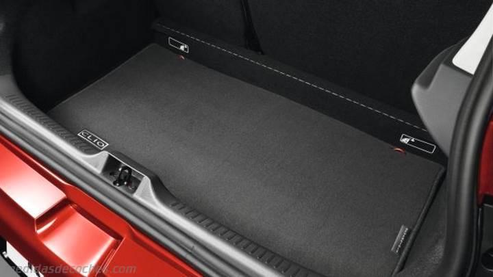 medidas renault clio 2016 maletero e interior. Black Bedroom Furniture Sets. Home Design Ideas