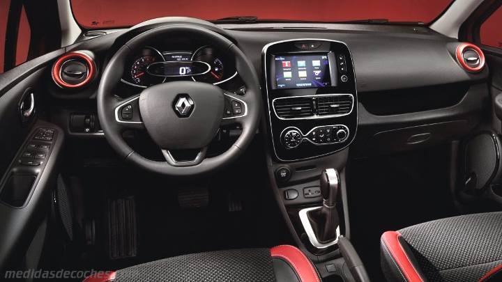 medidas renault clio 2016 maletero e interior. Black Bedroom Furniture Sets. Home Design Ideas