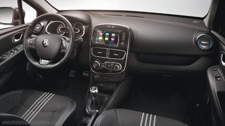 Renault Clio Estate Interior >> Medidas Renault Clio Sport Tourer 2016, maletero e interior