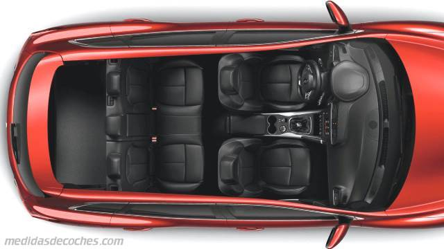 Medidas Renault Kadjar 2015, maletero e interior