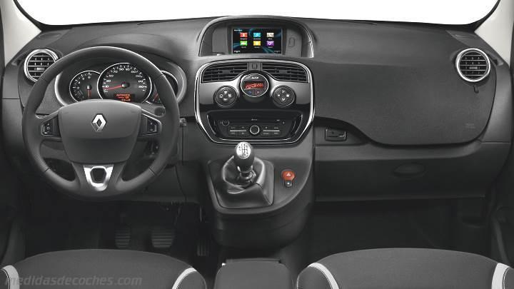 Medidas Renault Kangoo 2013 Maletero E Interior