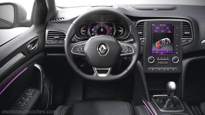 Medidas Renault M 233 Gane Sport Tourer 2016 Maletero E Interior