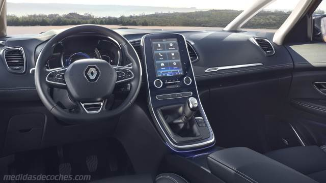 Medidas renault sc nic 2016 maletero e interior for Interior renault scenic