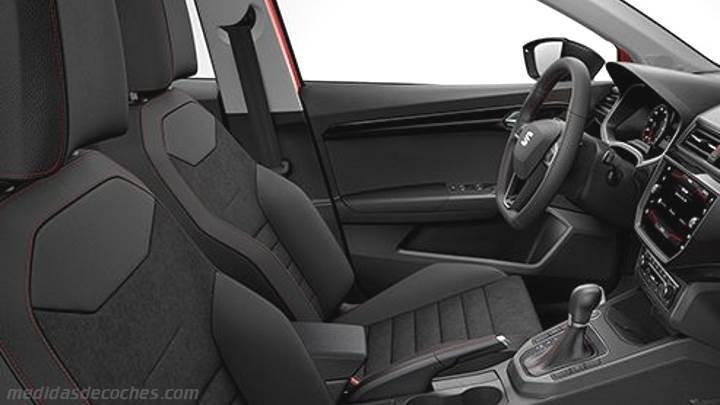 Medidas Seat Ibiza 2017, maletero e interior