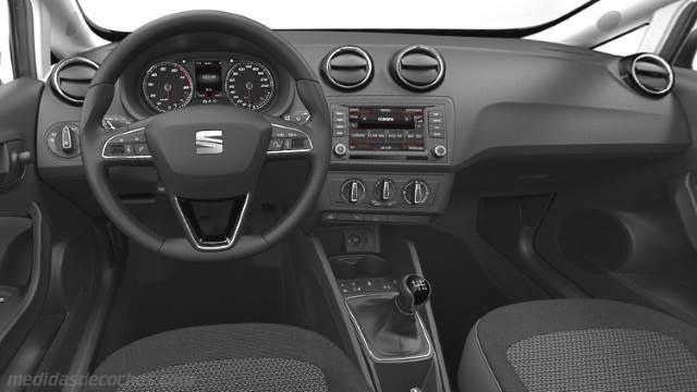 Medidas seat ibiza 5p 2015 maletero e interior for Interior ibiza 2017