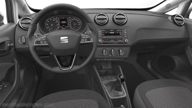 Medidas seat ibiza st 2015 maletero e interior for Seat ibiza innenraum