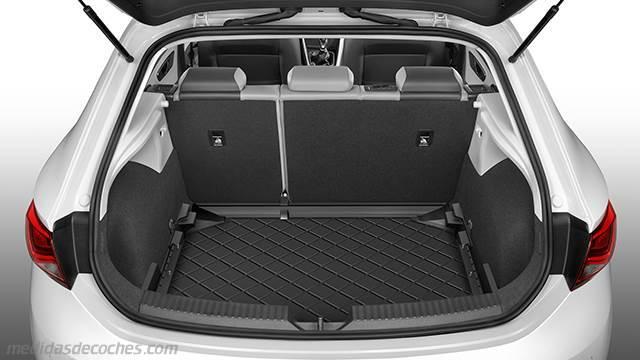 Medidas seat le n 5p 2012 maletero e interior - Dimensiones seat ...