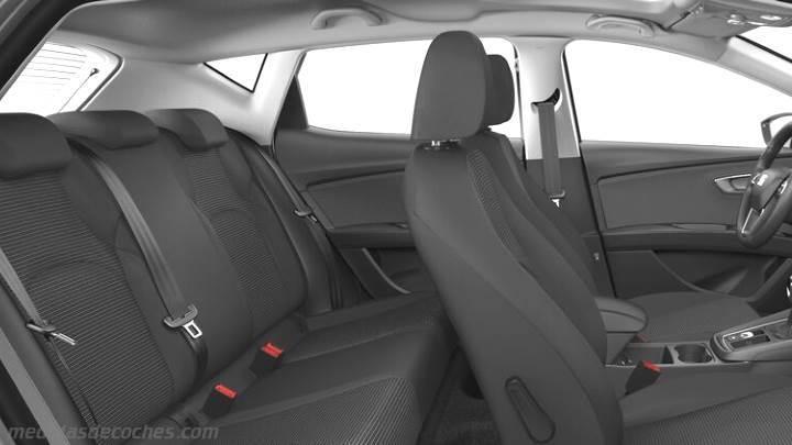 medidas seat le243n 5p 2017 maletero e interior
