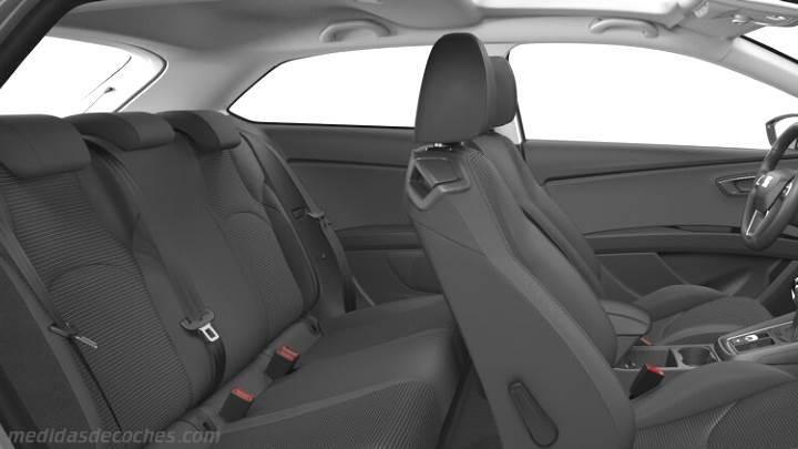 Medidas seat le n sc 2017 maletero e interior - Dimensiones seat ...