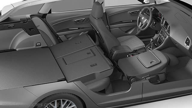 Medidas seat le n st 2013 maletero e interior - Dimensiones seat ...