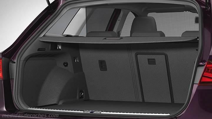 Medidas seat le n st 2017 maletero e interior - Dimensiones seat ...