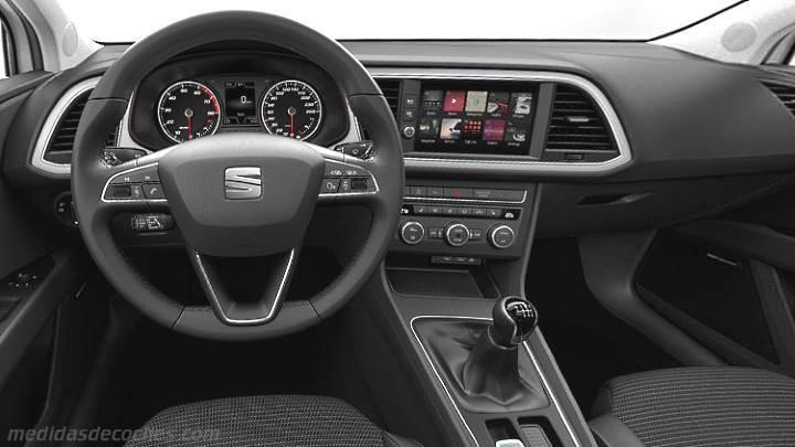 Medidas Seat Le 243 N St 2017 Maletero E Interior
