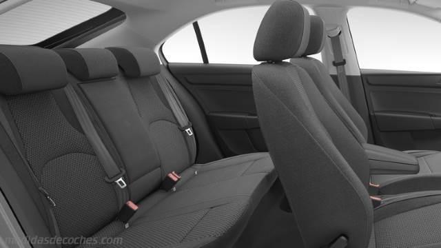 Medidas seat toledo 2012 maletero e interior - Dimensiones seat ...
