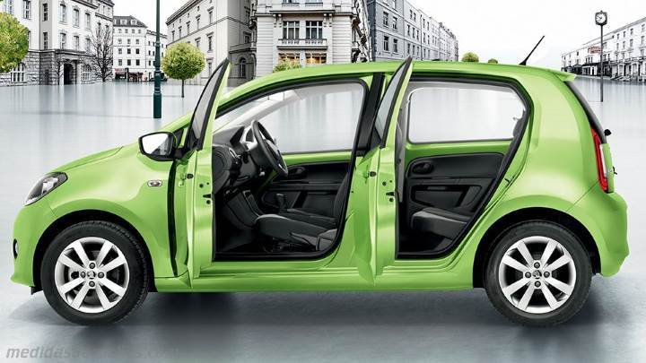 Interior Skoda Citigo 2012