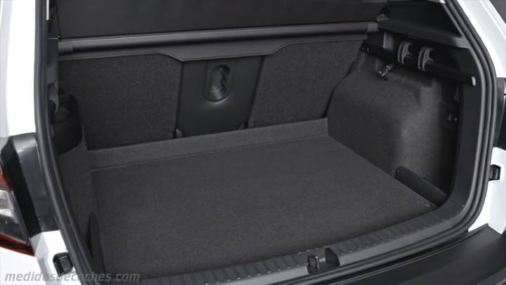 medidas skoda karoq 2018 maletero e interior. Black Bedroom Furniture Sets. Home Design Ideas