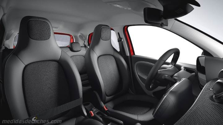 Interior Smart forfour 2015