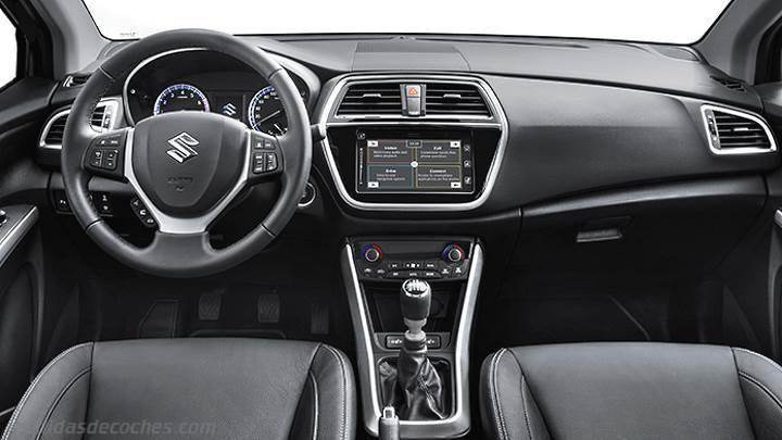 Medidas Suzuki S-Cross 2016, maletero e interior